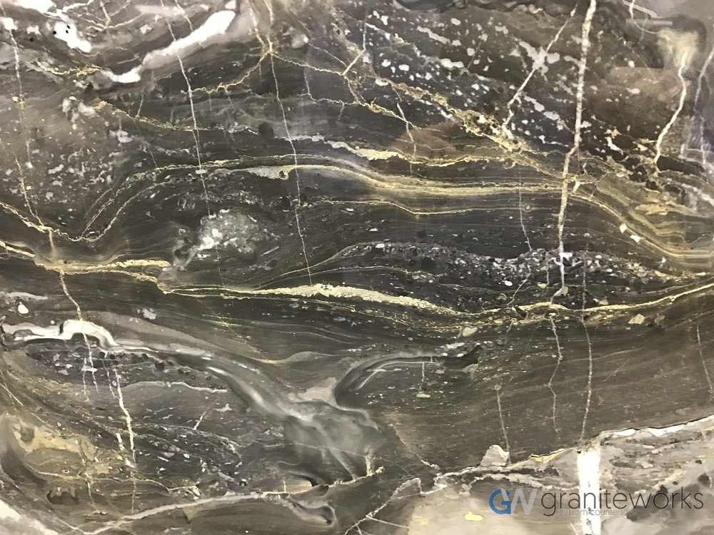 Marble – Arabascato Grigio Black close-min